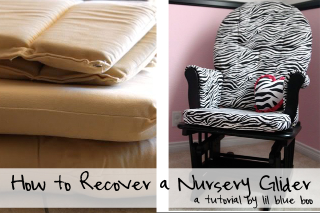 Reupholstering A Nursery Rocker