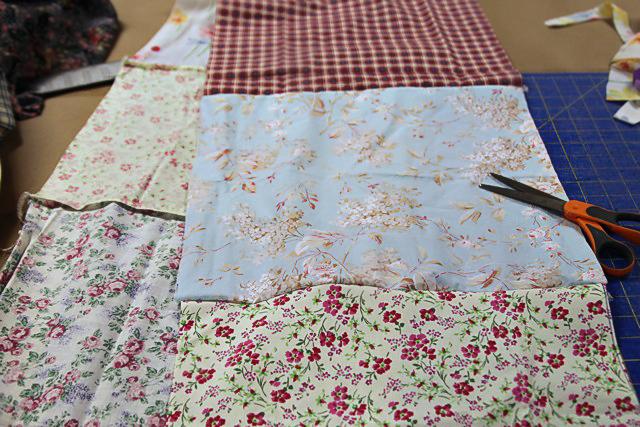 A Patchwork Tent step 2 (A Tutorial) via lilblueboo.com