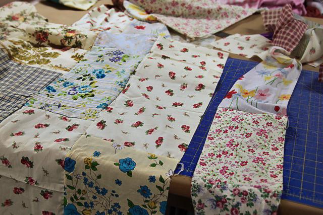 A Patchwork Tent step 5 (A Tutorial) via lilblueboo.com