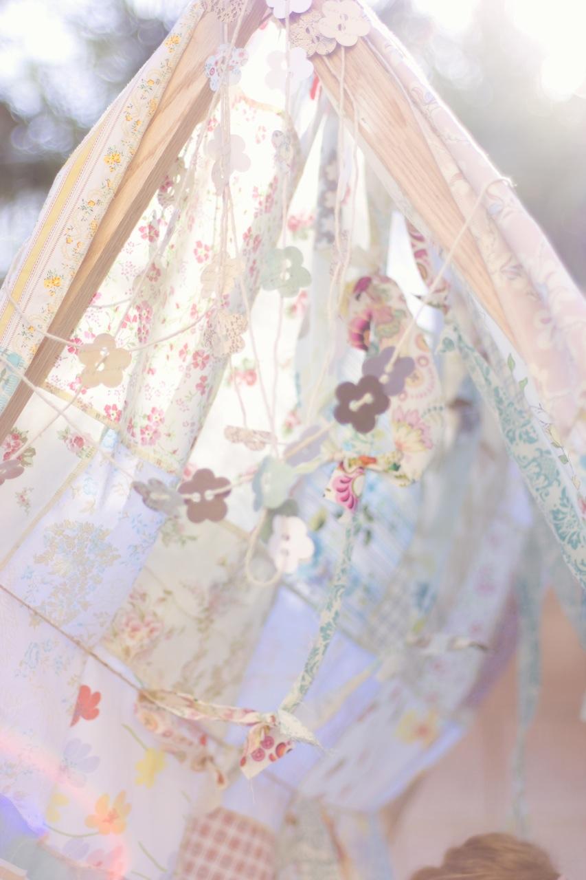 Diy Fabric Garland And Tiny Paper Garland A Tutorial