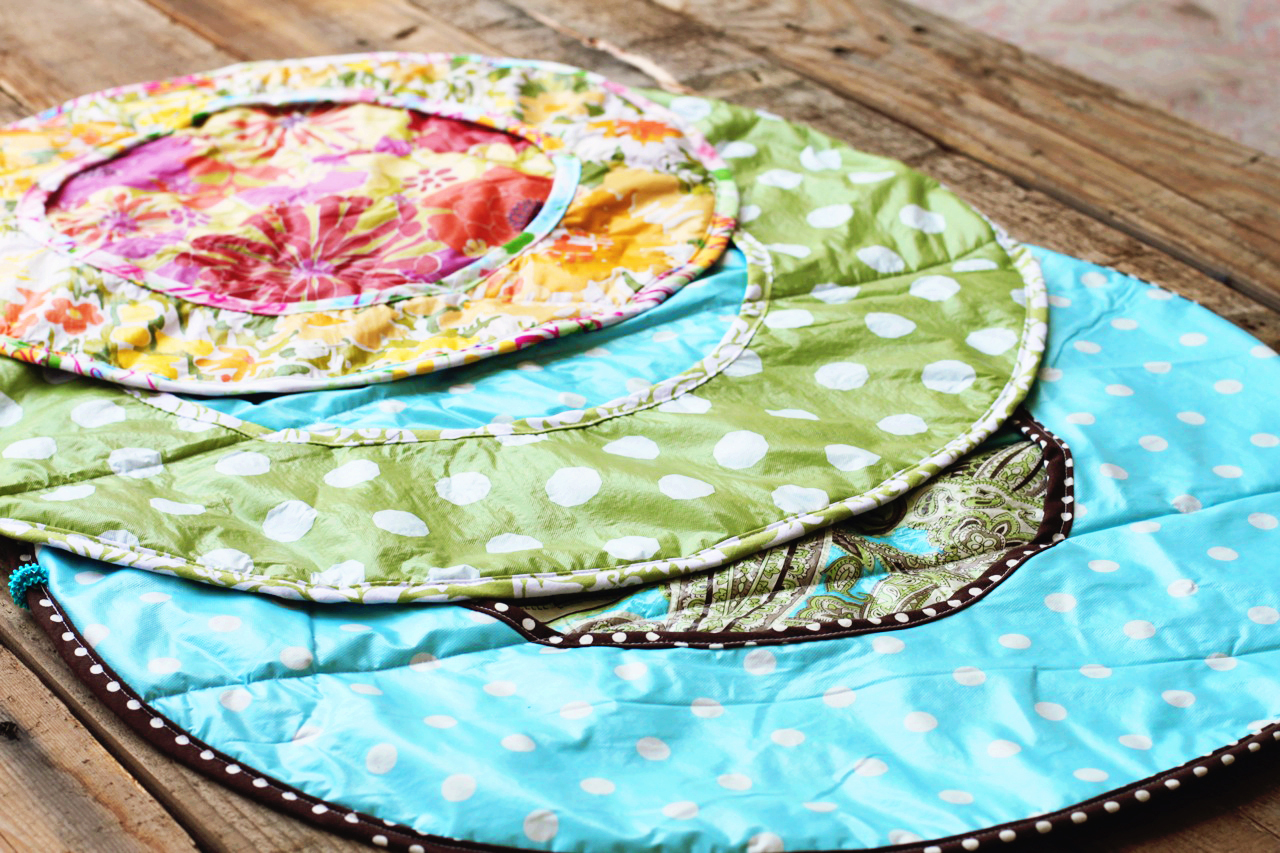 Vinyl Tablecloth Roll Up Diaper Changer Tutorial And Pattern