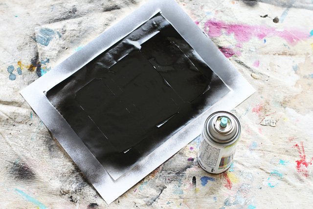How to make chalkboard paper diy tutorial via lilblueboo.com