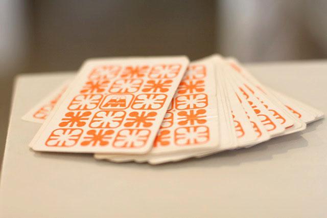 Vintage Circus Playing Cards via lilblueboo.com