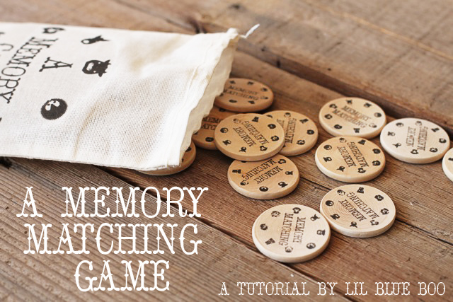 A Matching Game (A Tutorial and Download)  via lilblueboo.com