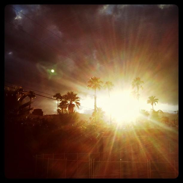 The Journey - Sunset in Palm Desert