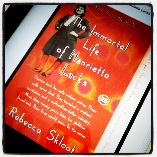 A cancer related book - Henrietta Lacks