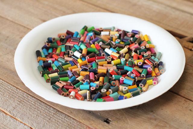 Cast Resin Paperweights & Coasters step 1 DIY Tutorial via lilblueboo.com