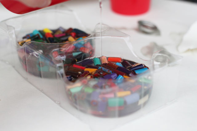 Cast Resin Paperweights & Coasters step 10 DIY Tutorial via lilblueboo.com