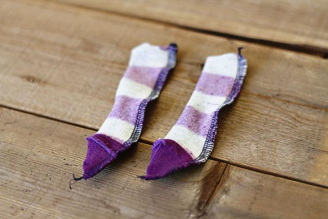How to make a sock bunny - Step 7. DIY Tutorial via lilblueboo.com