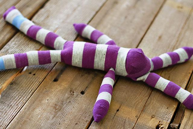 How to make a sock bunny - Step 11. DIY Tutorial via lilblueboo.com