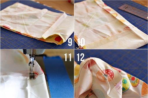 The Dishtowel Skirt 6 (A Tutorial) via lilblueboo.com