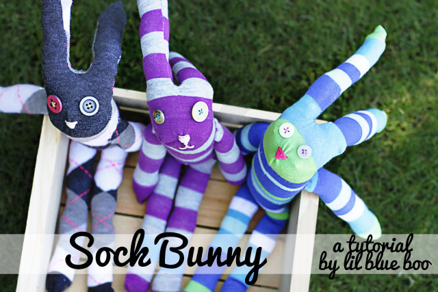 free doll pattern rabbit. DIY Tutorial via lilblueboo.com