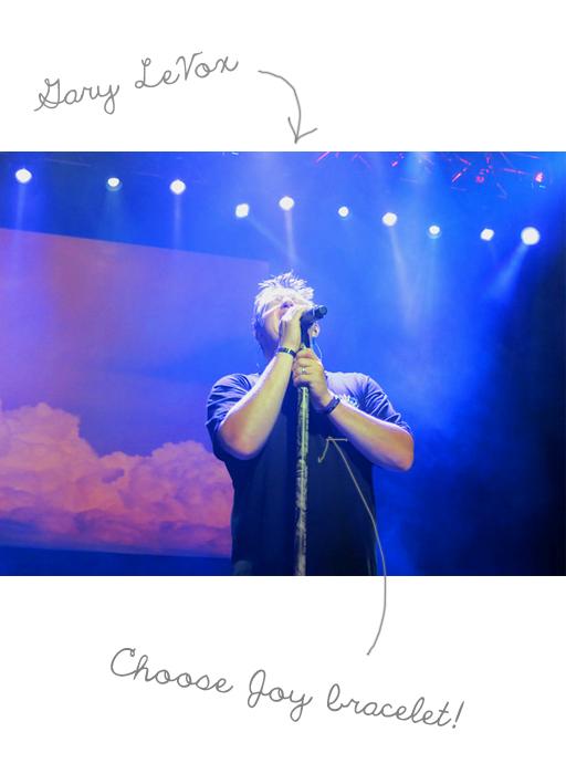 Today I Choose Joy: Gary LeVox Choosing Joy via lilblueboo.com #choosejoy