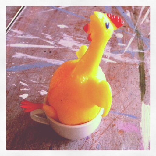 The Chicken via lilblueboo.com