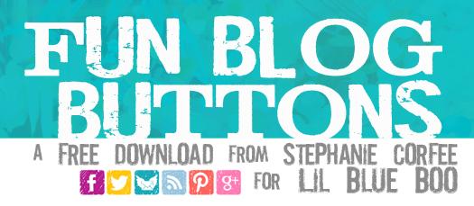 Social media icons - free download - via lilblueboo.com