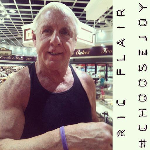 Today I Choose Joy: #choosejoy Ric Flair Choosing Joy via lilblueboo.com