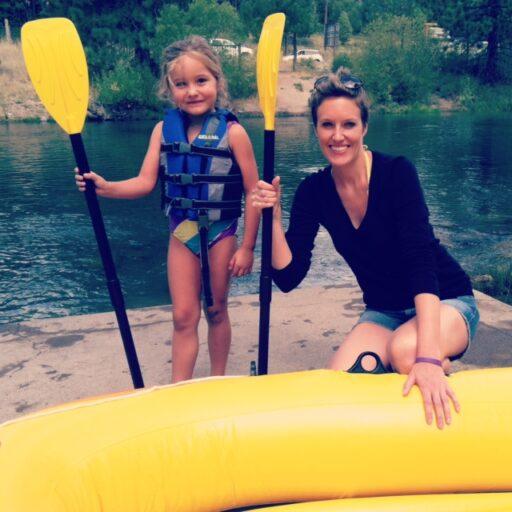 Truckee River Rafting via lilblueboo.com
