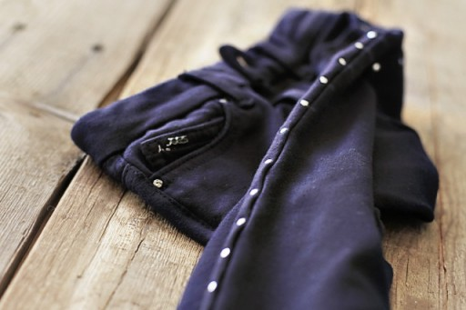Adding Metal Studs to Clothing Tutorial (Hot Fix) via lilblueboo.com