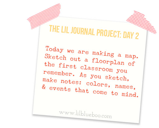 The Lil Journal Project | Day 2 via lilblueboo.com #theliljournalproject