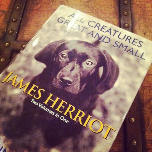 All Creatures Great and Small / All Things Bright and Beautiful by James Herriot via lilblueboo.com