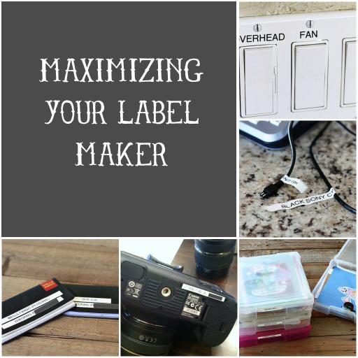Maximizing Your Label Maker via lilblueboo.com