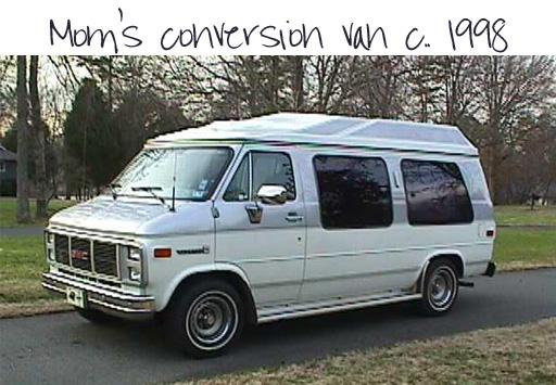 Conversion Van via lilblueboo.com