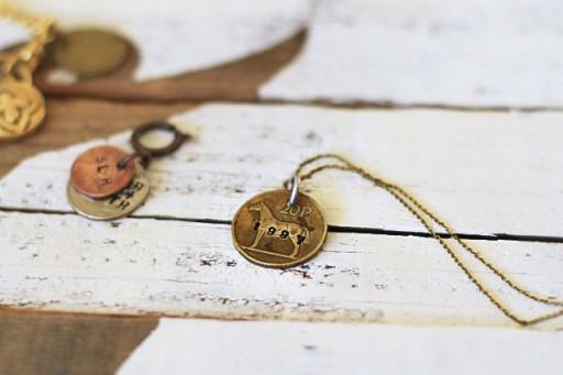 How to Make Coin Jewelry via lilblueboo.com