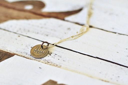 Travel Coin Souvenir via lilblueboo.com