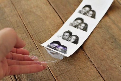 Packing Tape Transfers via lilblueboo.com
