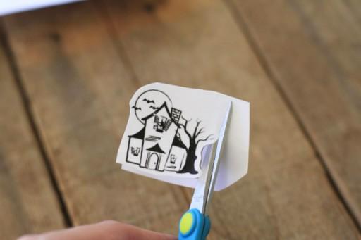 DIY Glass Cling Stickers (step 2) via lilblueboo.com