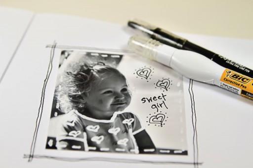 Photography Doodle Frames via lilblueboo.com #artjournaling #scrapbooking #theliljournalproject