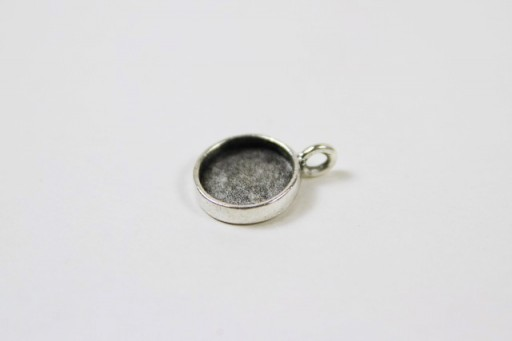 Where to Buy Round Silver DIY Pendants for Resin or Epoxy via lilblueboo.com
