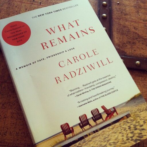 What Remains by Carole Radziwill via lilblueboo.com