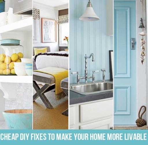 Budget friendly home renovation ideas via lilblueboo.com