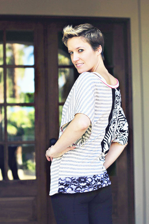 The GoTo Knit Top Pattern via lilblueboo.com/shop