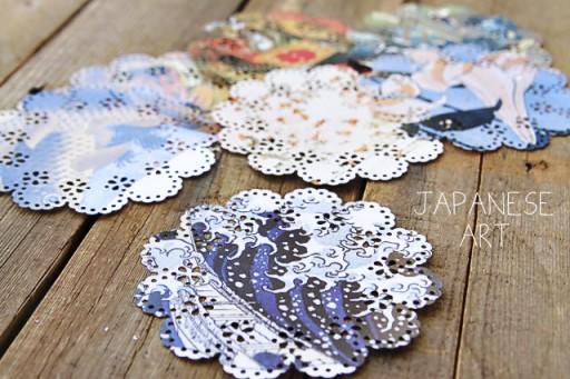 Origami project ideas via lilblueboo.com #diy #doily #marthastewart