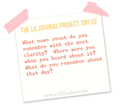 The Lil Journal Project Day 32 via lilblueboo.com