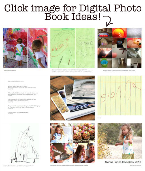 Digital Photo Book Ideas via lilblueboo.com