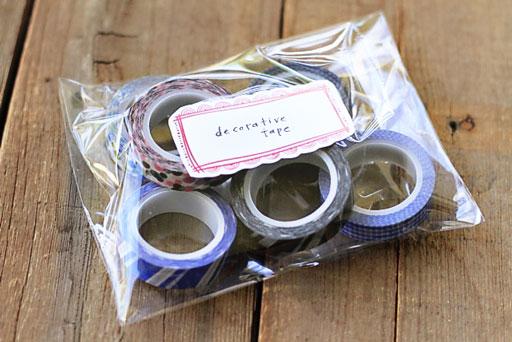 Decorative Washi Masking Tape by Elmer's via lilblueboo.com