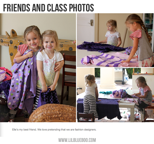 Photo Book Ideas: Class Photos and Friends via lilblueboo.com