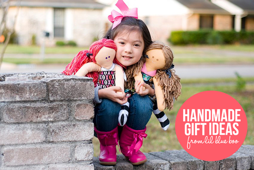 handmade gift ideas for kids and adults from lilblueboo.com