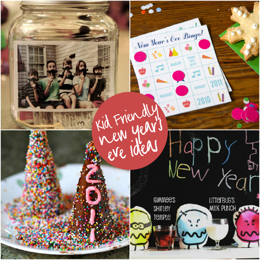 kids friendly new year's eve ideas via lilblueboo.com