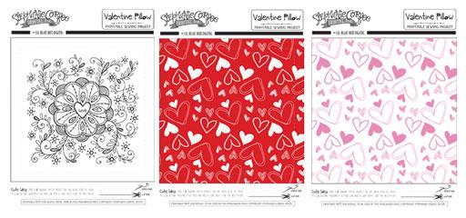 Valentine's Day Printables by Stephanie Corfee via lilblueboo.com