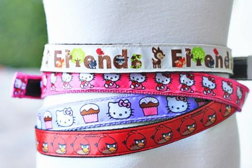 Easy DIY Belts (ribbon project ideas) via lilblueboo.com