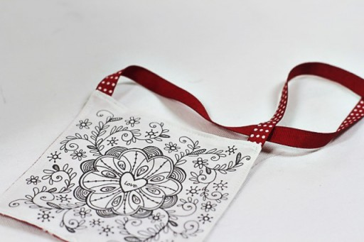 How to Print on Fabric using Ink Jet Printer via lilblueboo.com