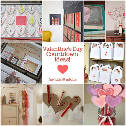 12 Fun Ways to Countdown to Valentine's Day via lilblueboo.com