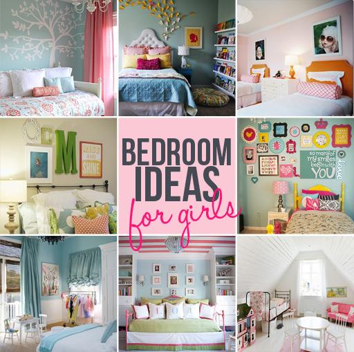 girls bedroom decor ideas via lilblueboo.com