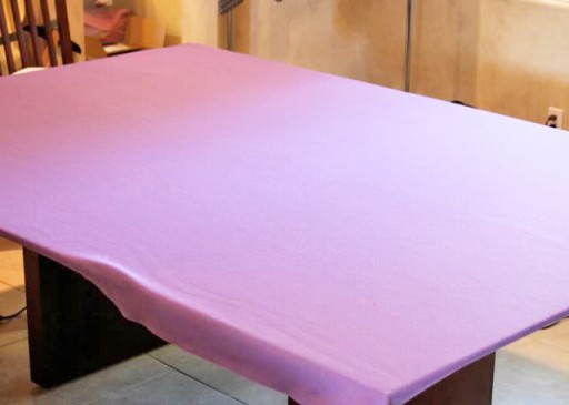 Make an oversized ironing table via lilblueboo.com