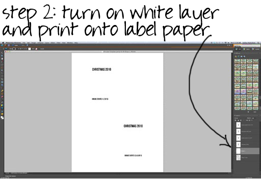 how to make a CD or DVD label in Photoshop via lilblueboo.com (memorex template Mac))