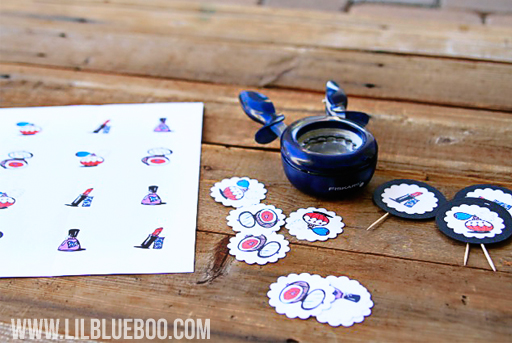 Professional Printer: Lil Blue Boo's Top 10 DIY Party Tips and Behind the Scenes via lilblueboo.com